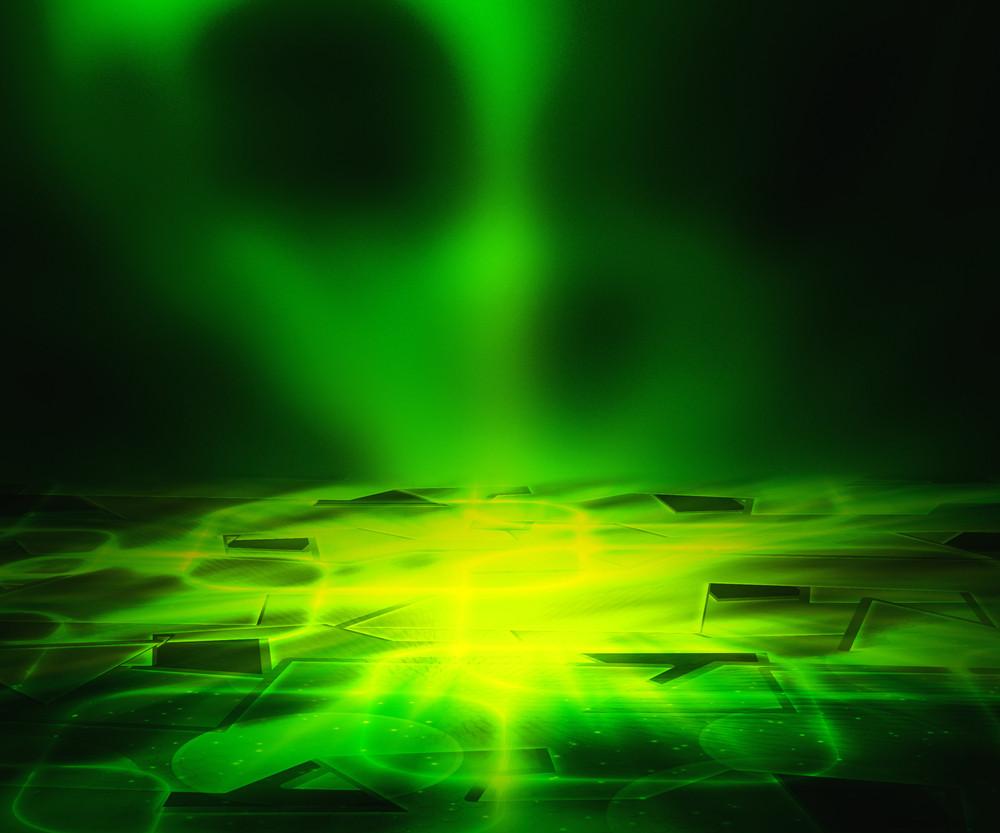 Green Floor Background