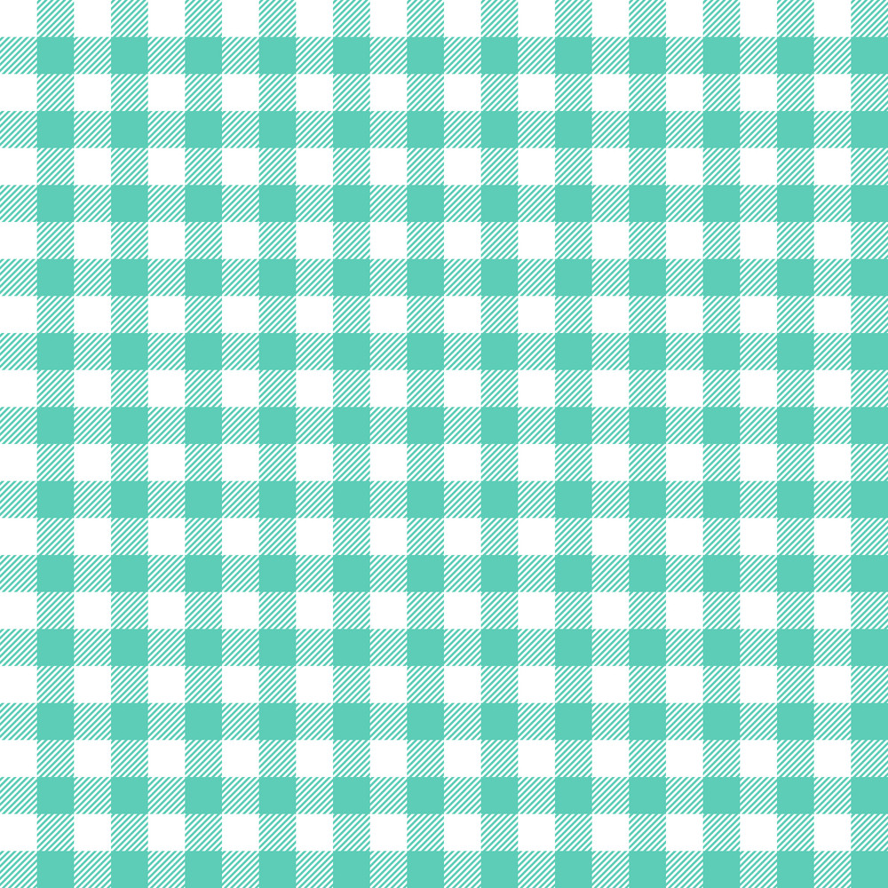 Green Gingham Pattern