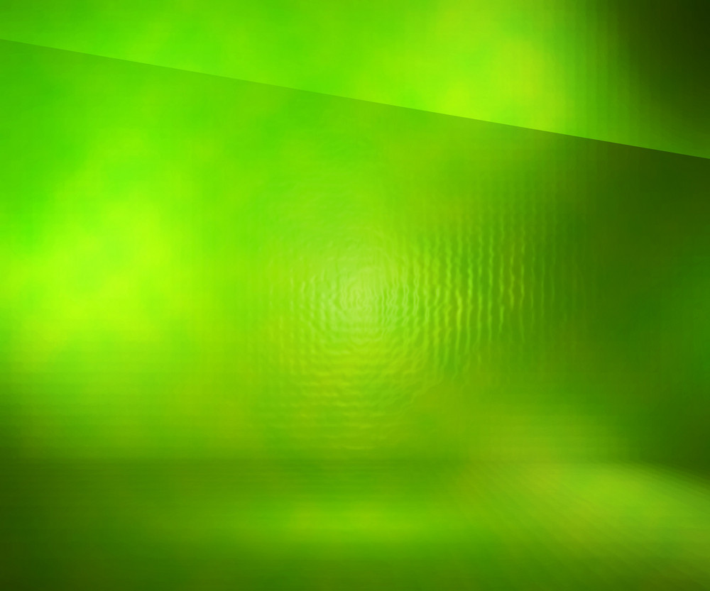 Green Glass Stage Background