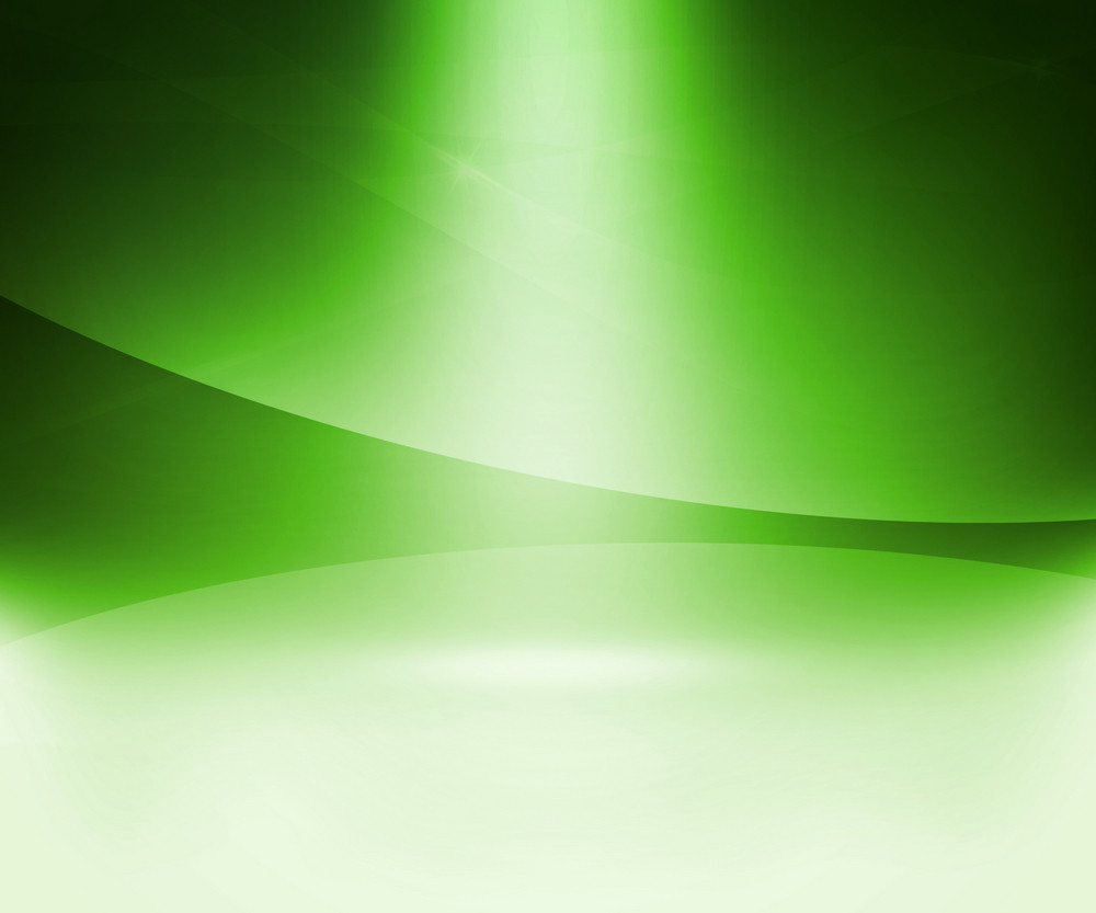 Green Glow Abstract Background