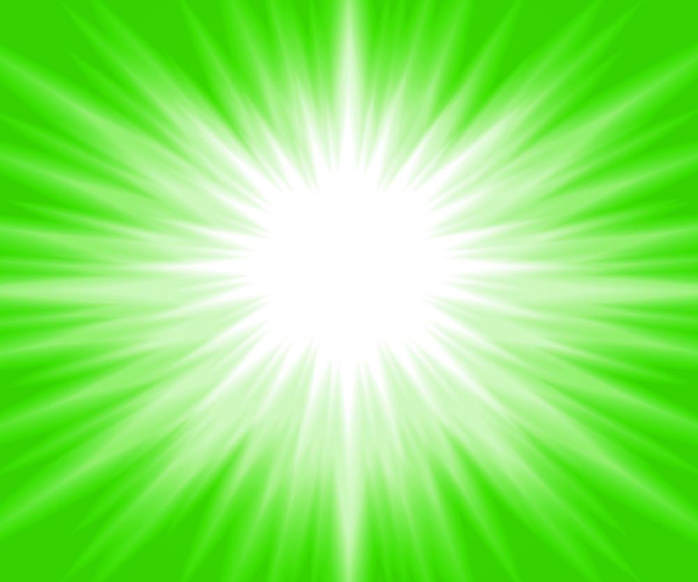 Green Glow Background
