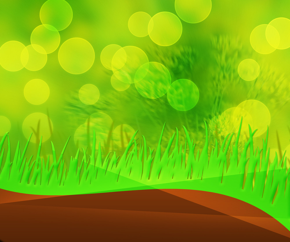 Green Grass Nature Abstract Background