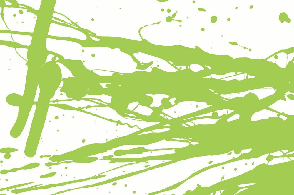 Green Grunge Splash