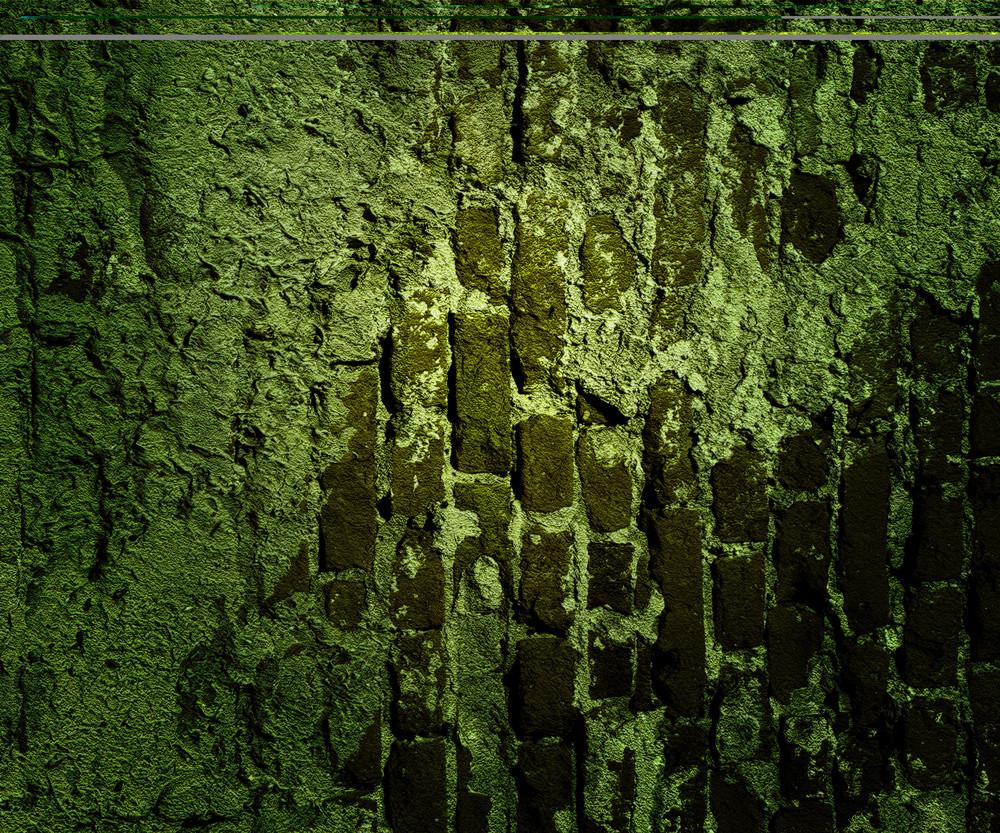 Green Grunge Wall Texture