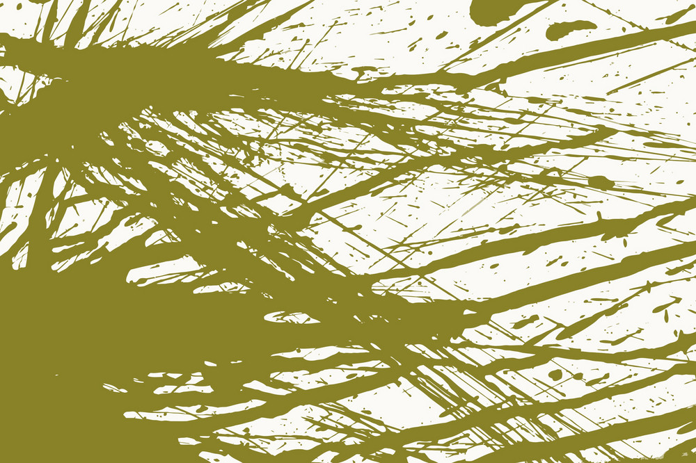 Green Grungy Splashes