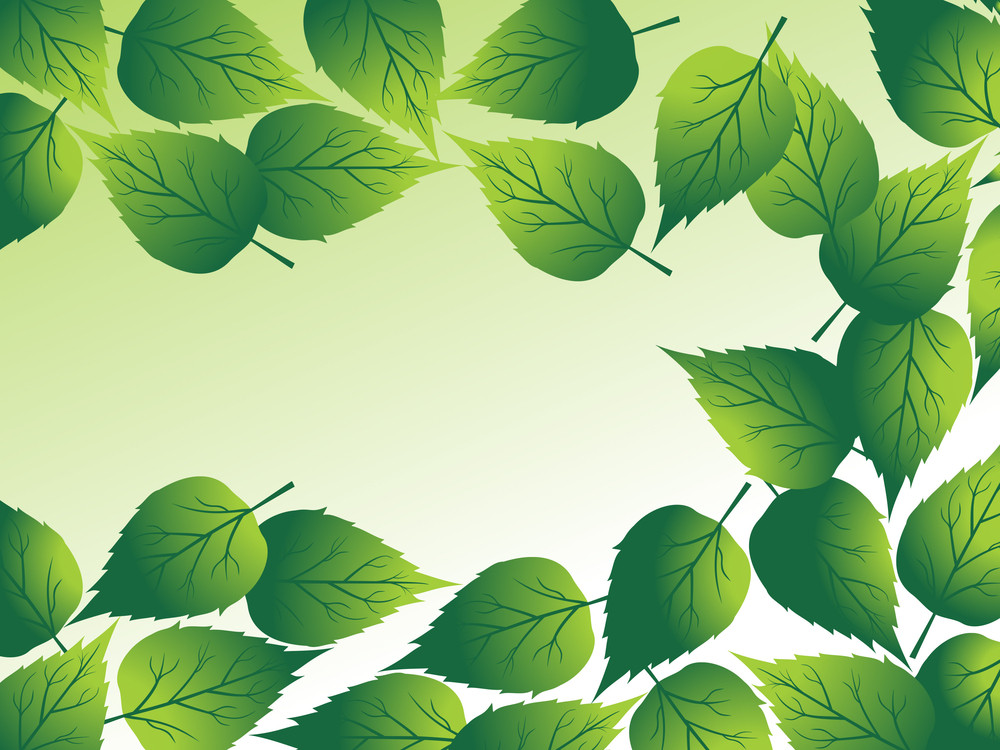 Green Illustration For Nature