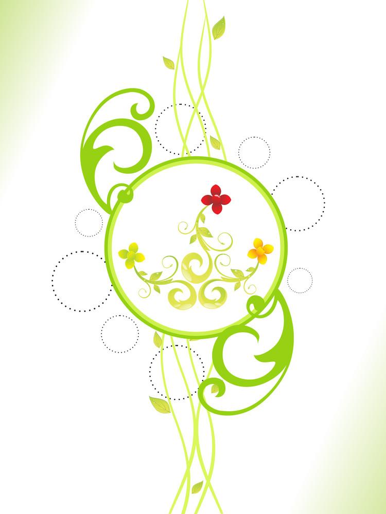 Green Illustration For Nature