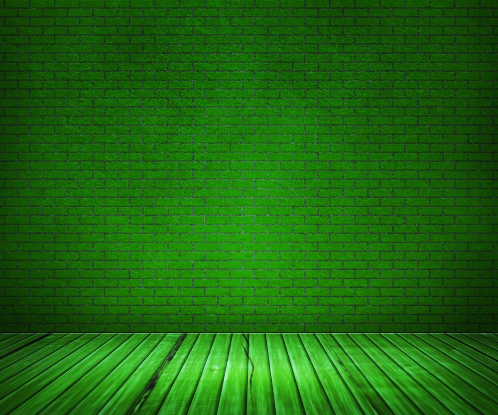 Green Interior Background