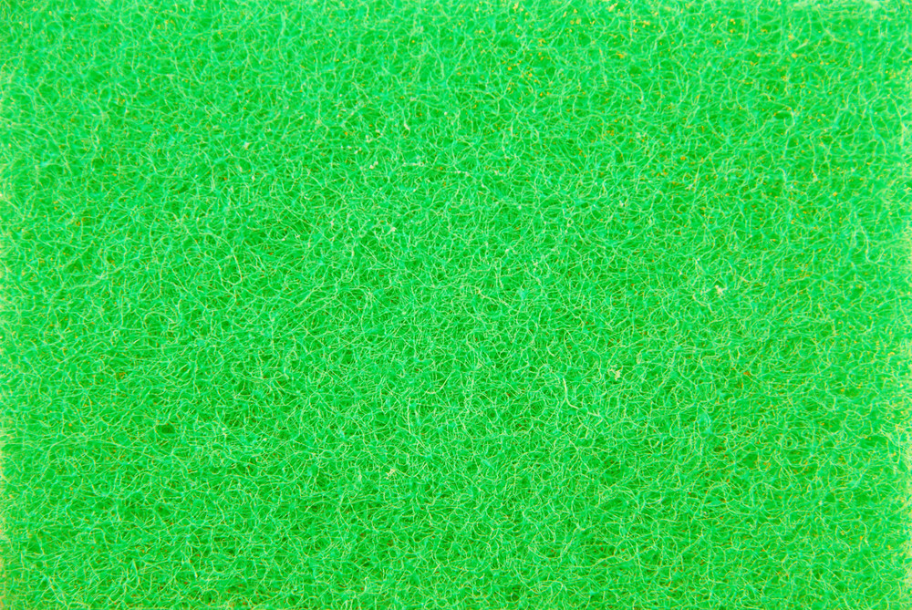 Green Kitchen Sponge (background)