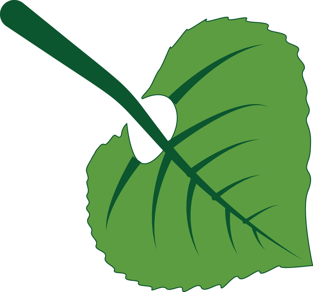 Green Leaf Element