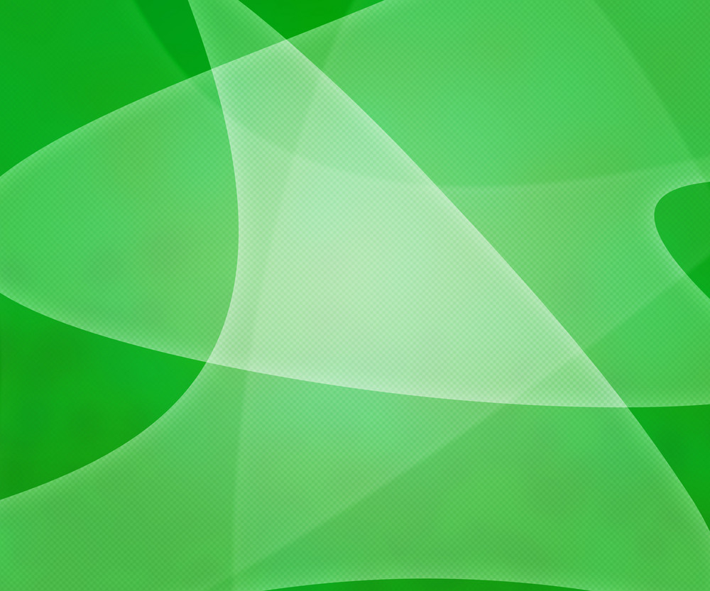 Green Light Shapes Background