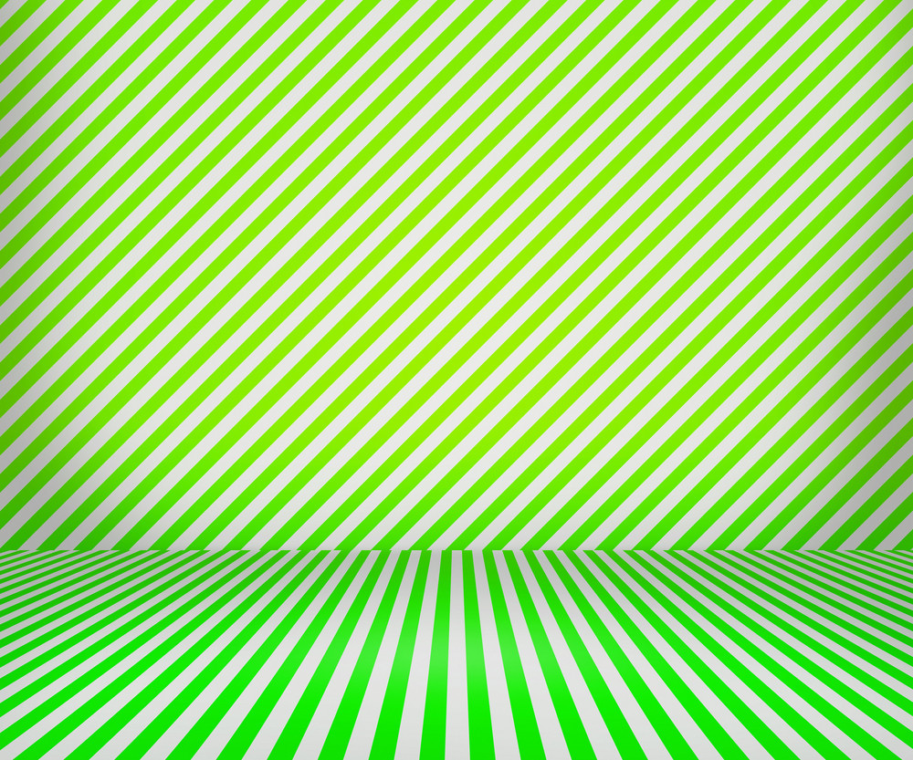 Green Lines Interior Background