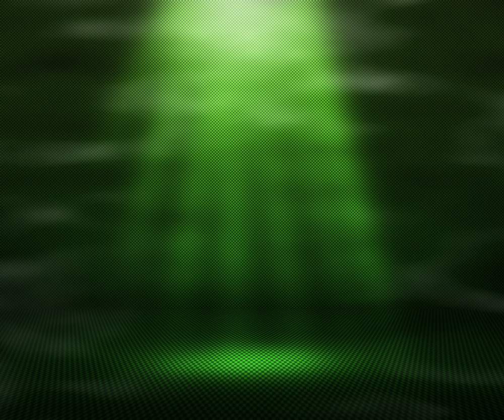 Green Magic Spot Light Background
