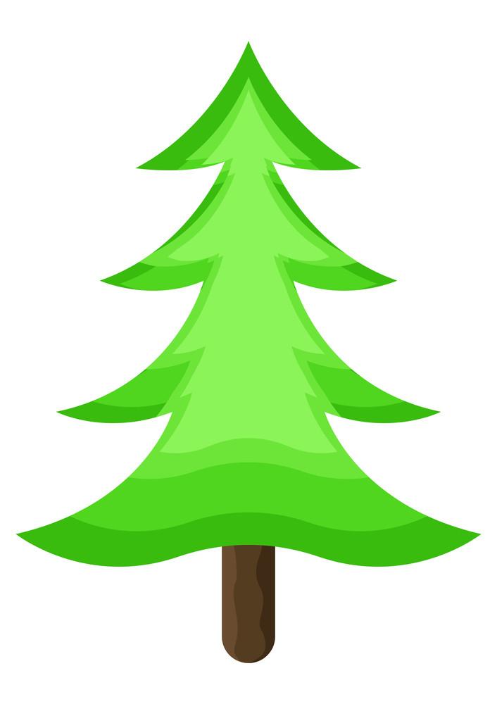 Green Modern Christmas Tree