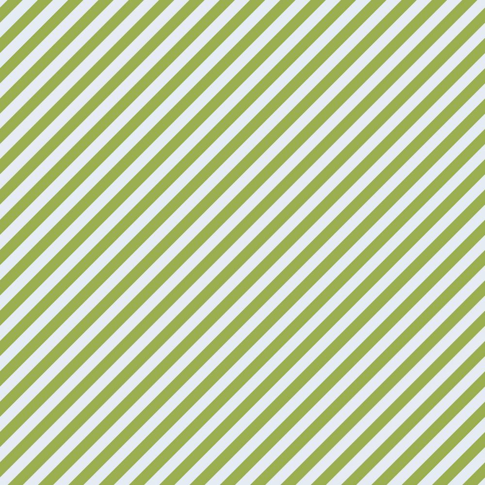Green Monochrome Diagonal Striped Pattern