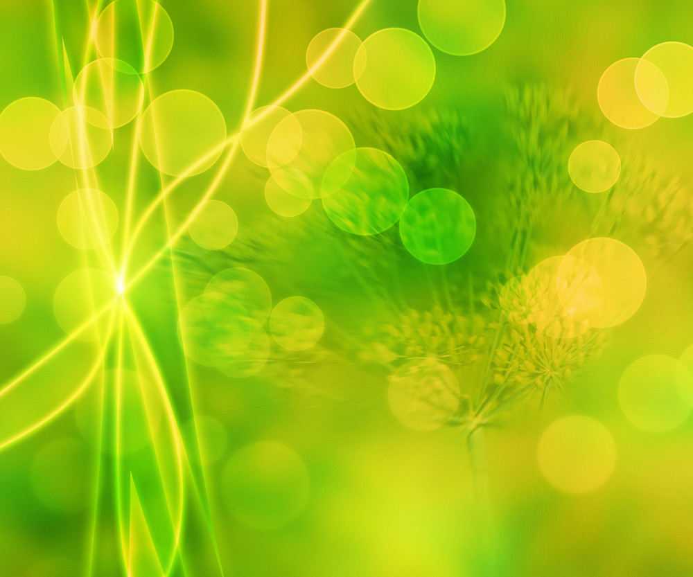 Green Nature Abstract Background Texture