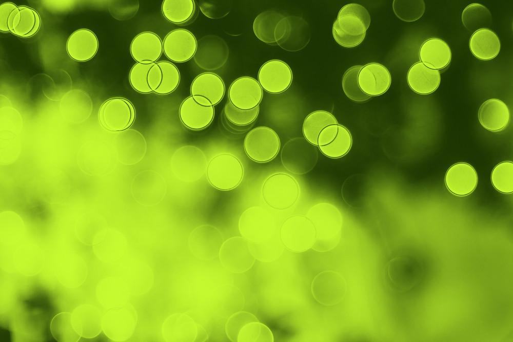 Green Nature Bokeh Backdrop