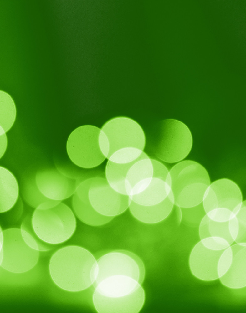 Green Nature Lights