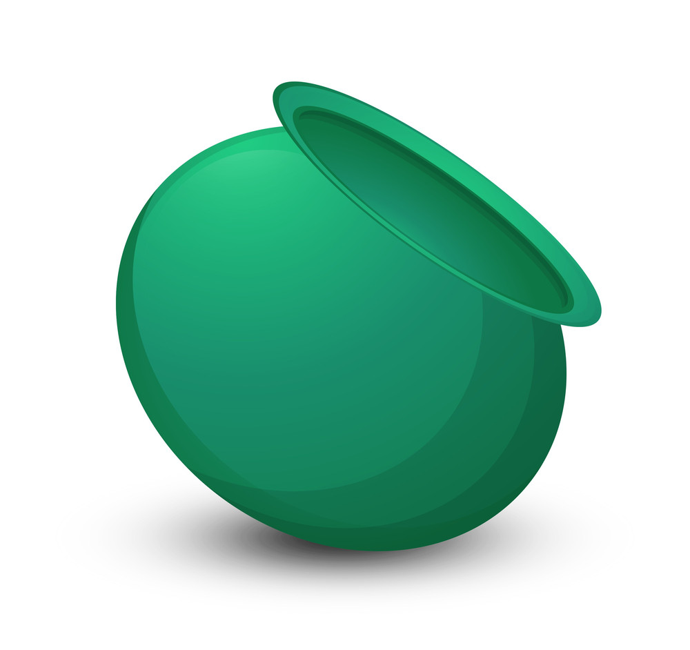 Green Patrick's Day Cauldron