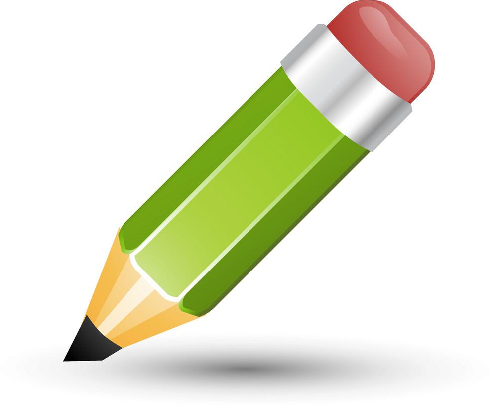 Green Pencil Lite Art Icon