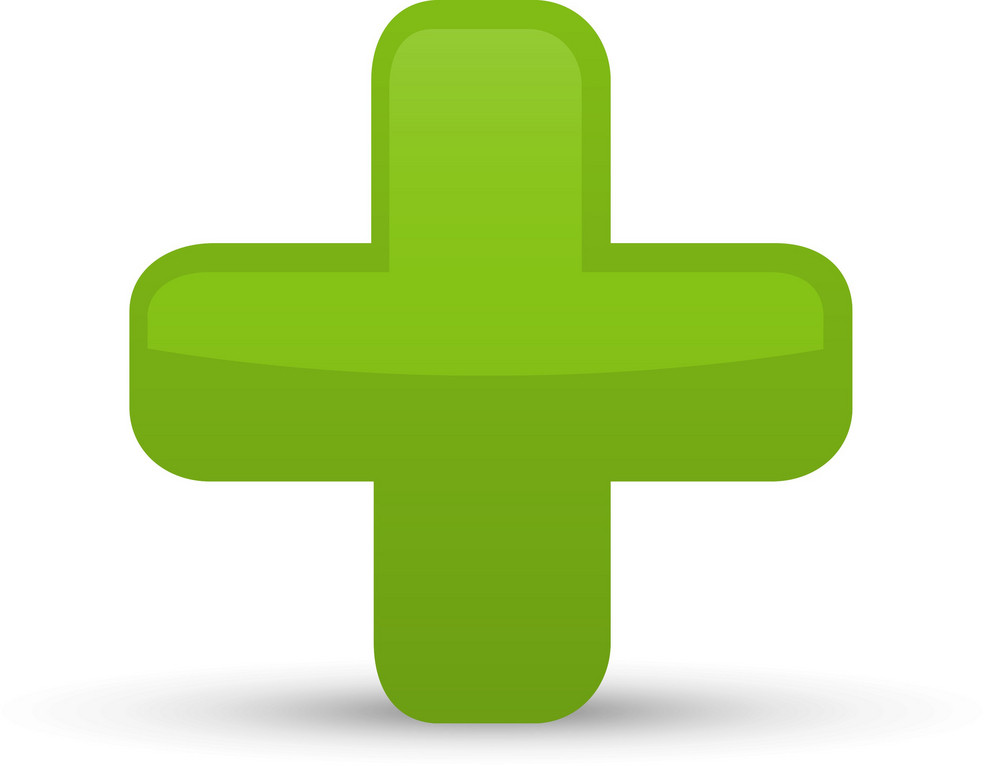 Green Plus Lite Communication Icon