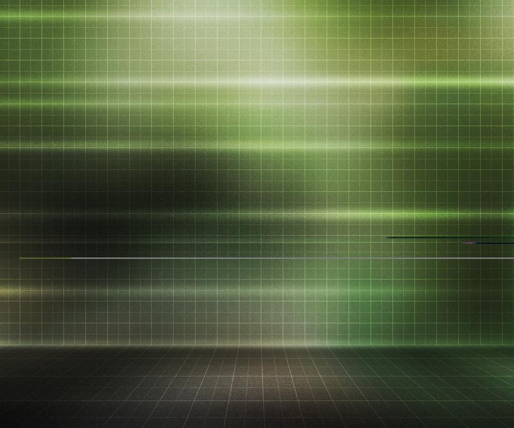 Green Presentation Stage Background