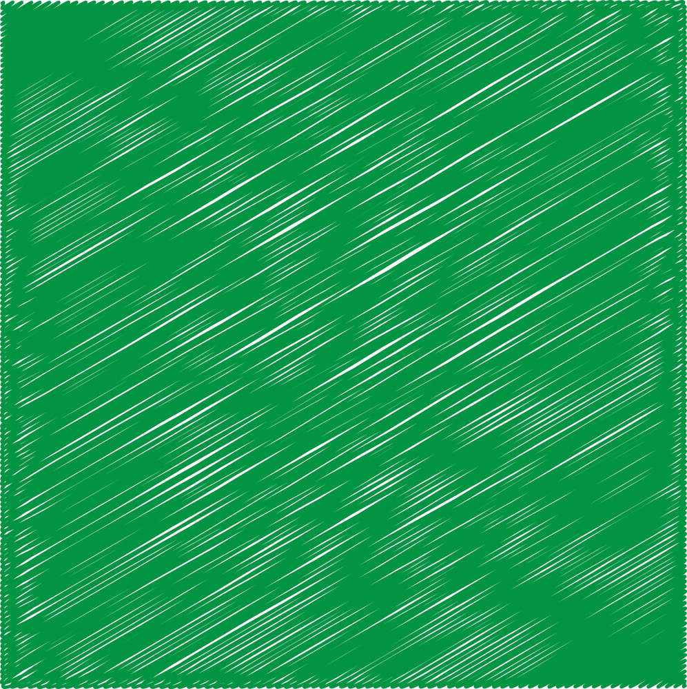 Green Scribble Background
