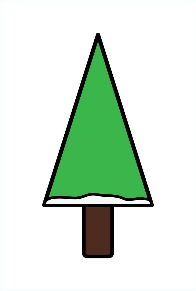 Green Shape Christmas Tree