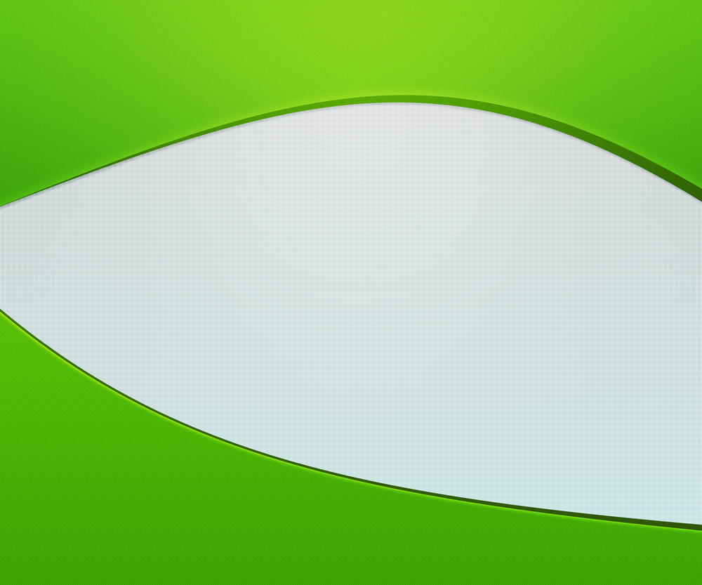 Green Shapes Simple Background