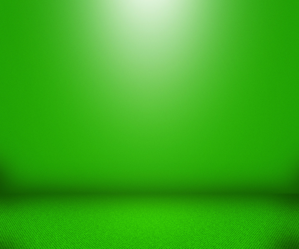 Green Simple Empty Background