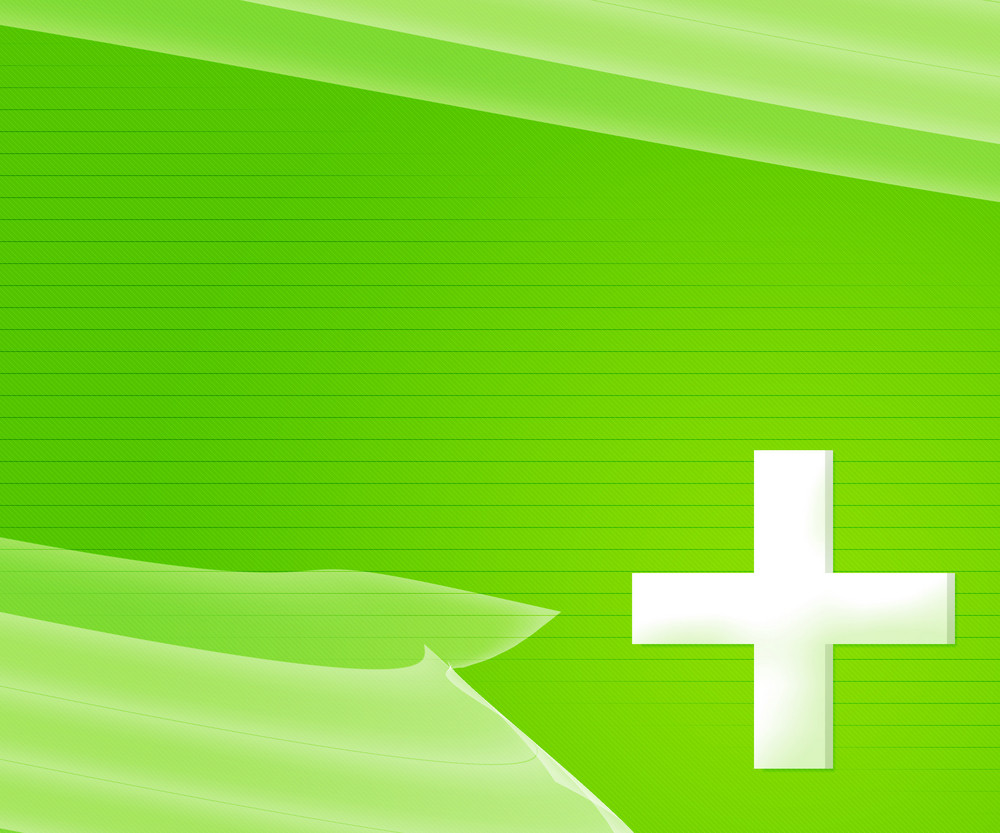 Green Simple Medical Background