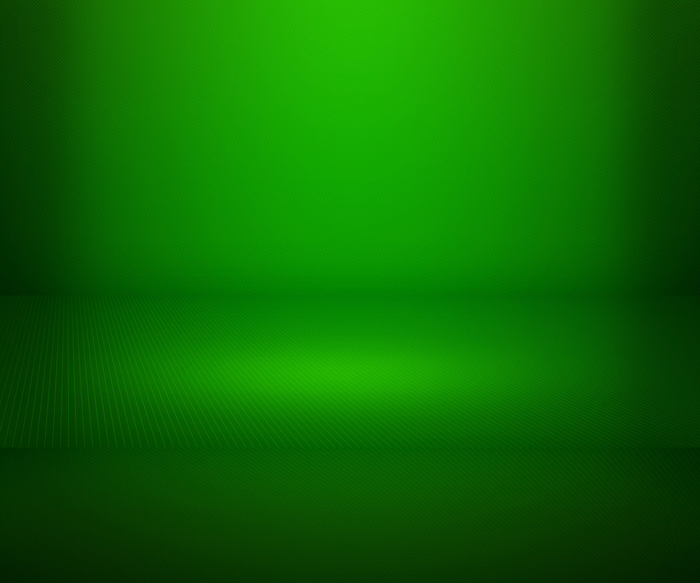 Green Simple Spotlight Stage Background