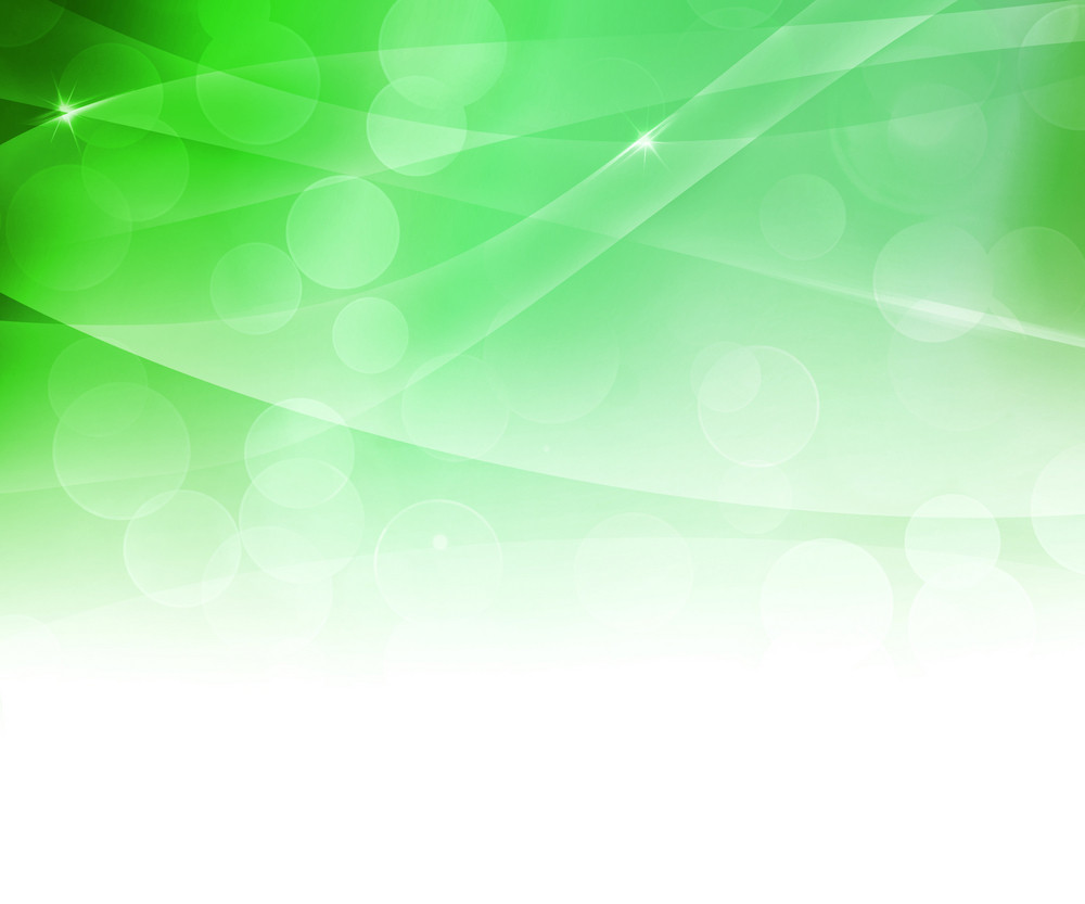 Green Soft Abstract Background