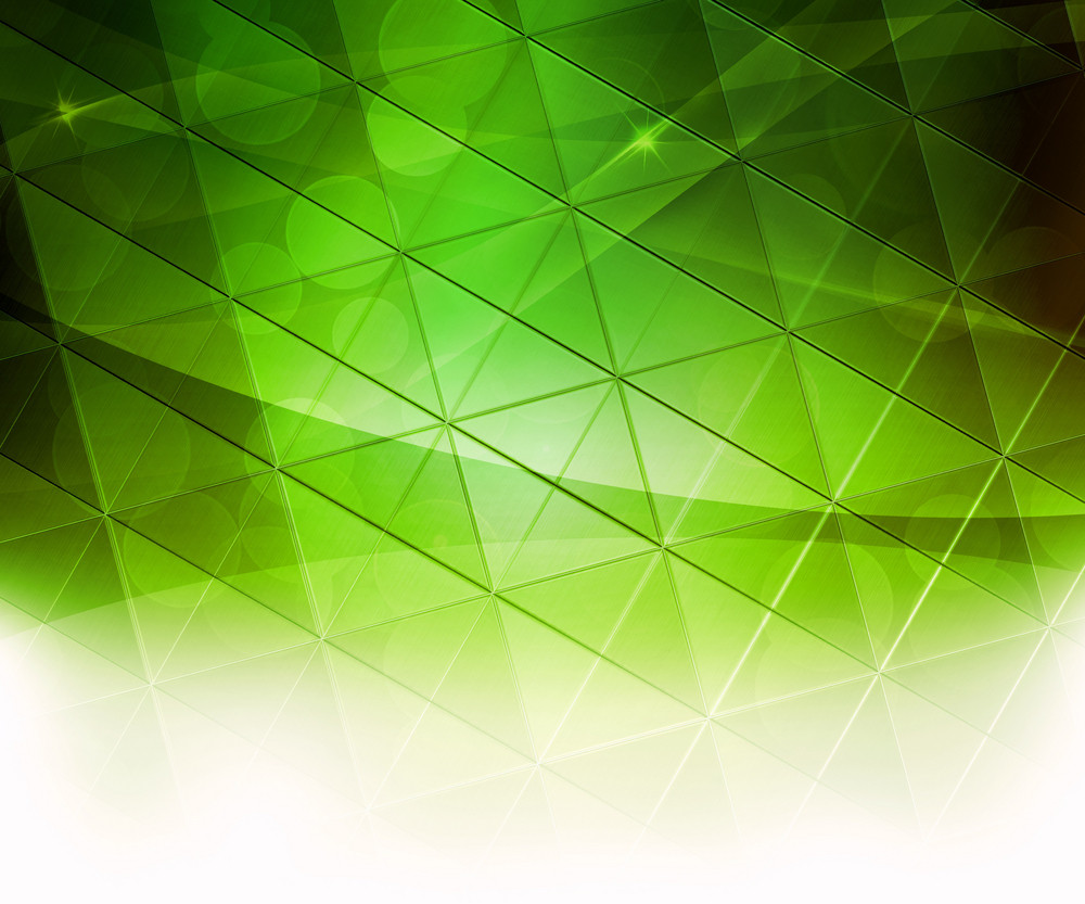 Green Squares Abstract Background