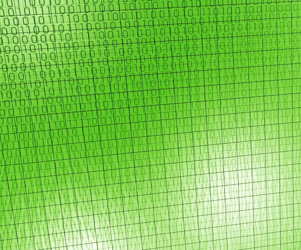 Green Tech Abstract