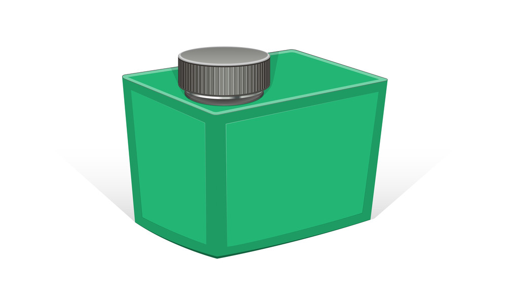Green Teen Container