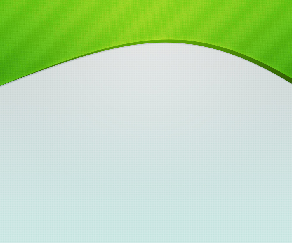 Green Top Shapes Simple Background