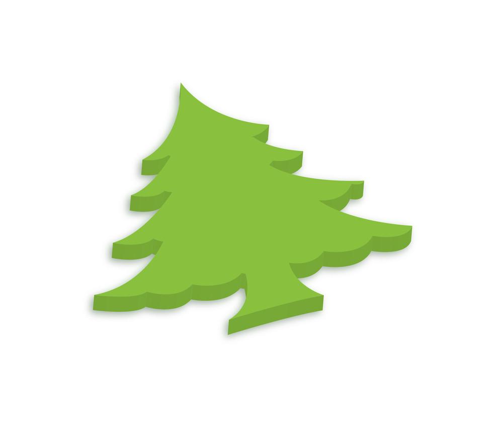 Green Tree Shape