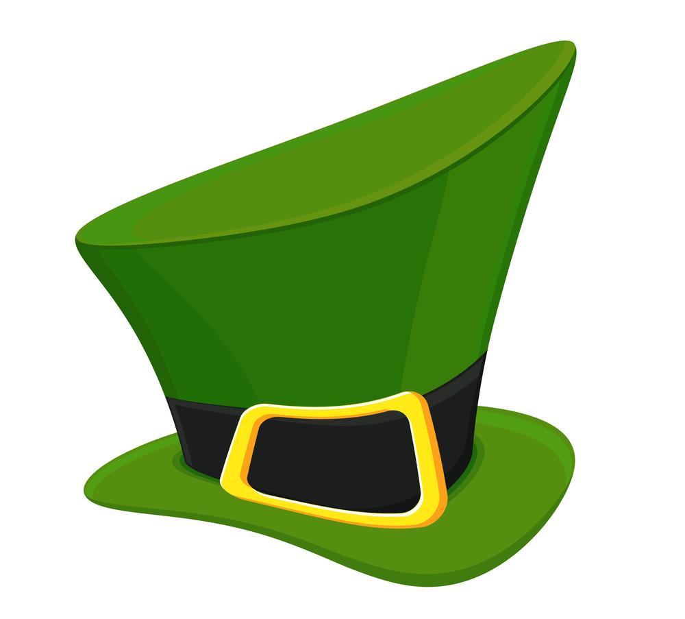 Green Vector Leprechaun Hat