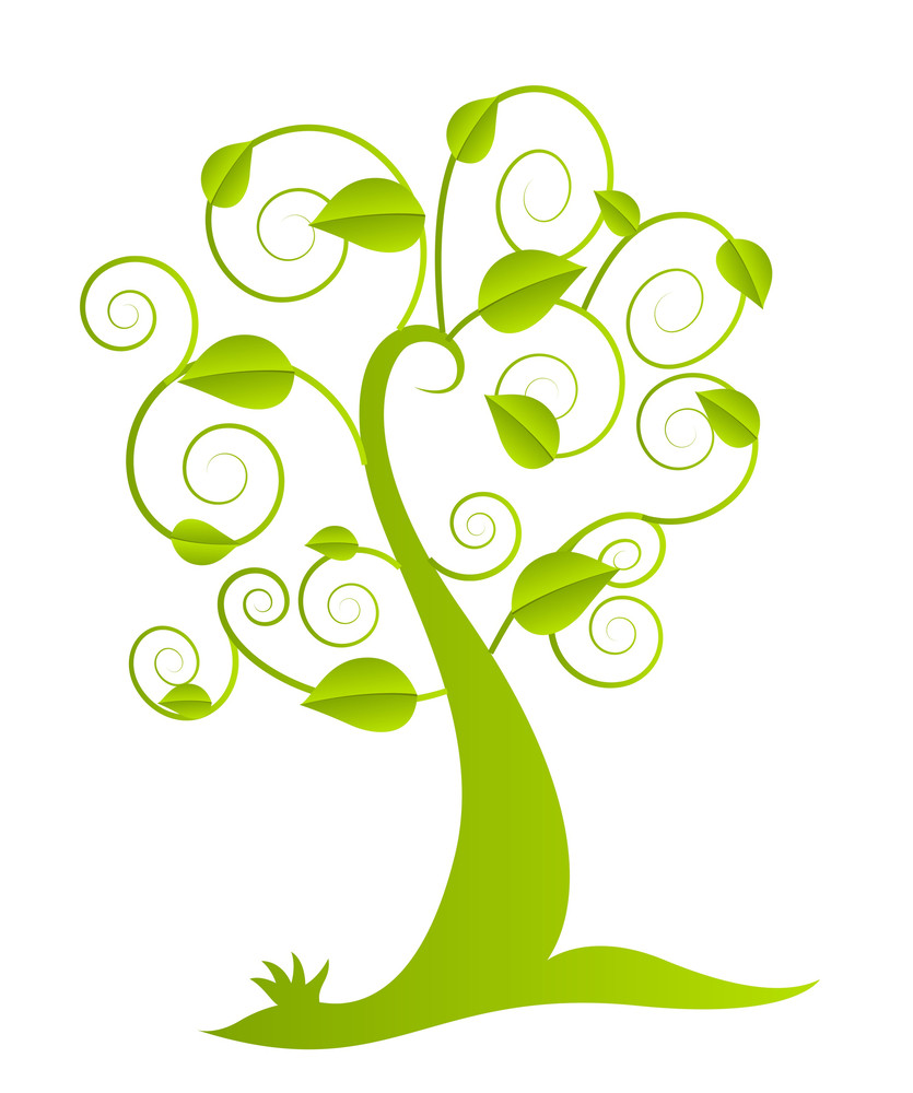 Green Vector Tree