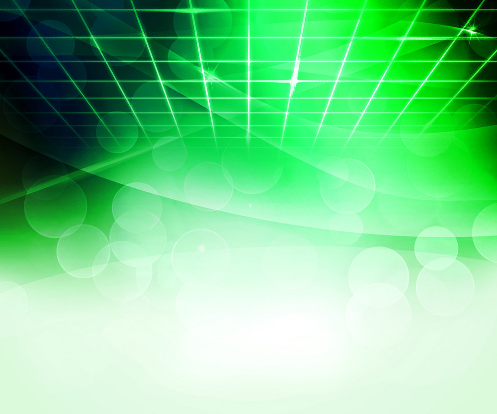 Green Virtual Abstract Background