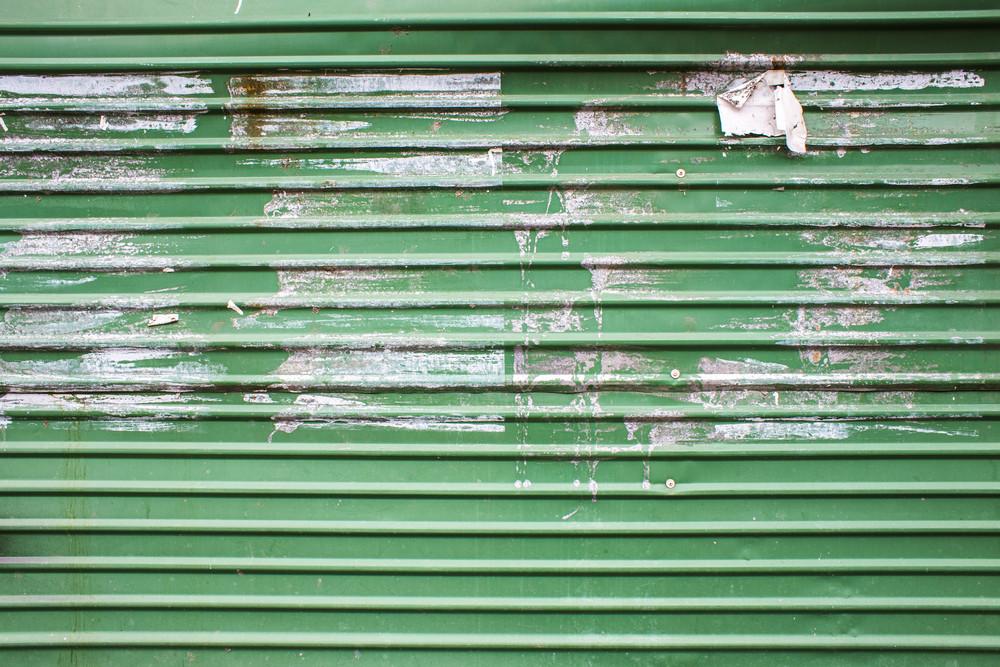 Green zinc texture background