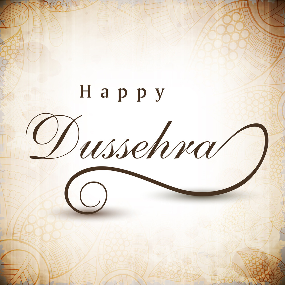 Greeting card for dussehra celebration in india royalty free stock greeting card for dussehra celebration in india m4hsunfo