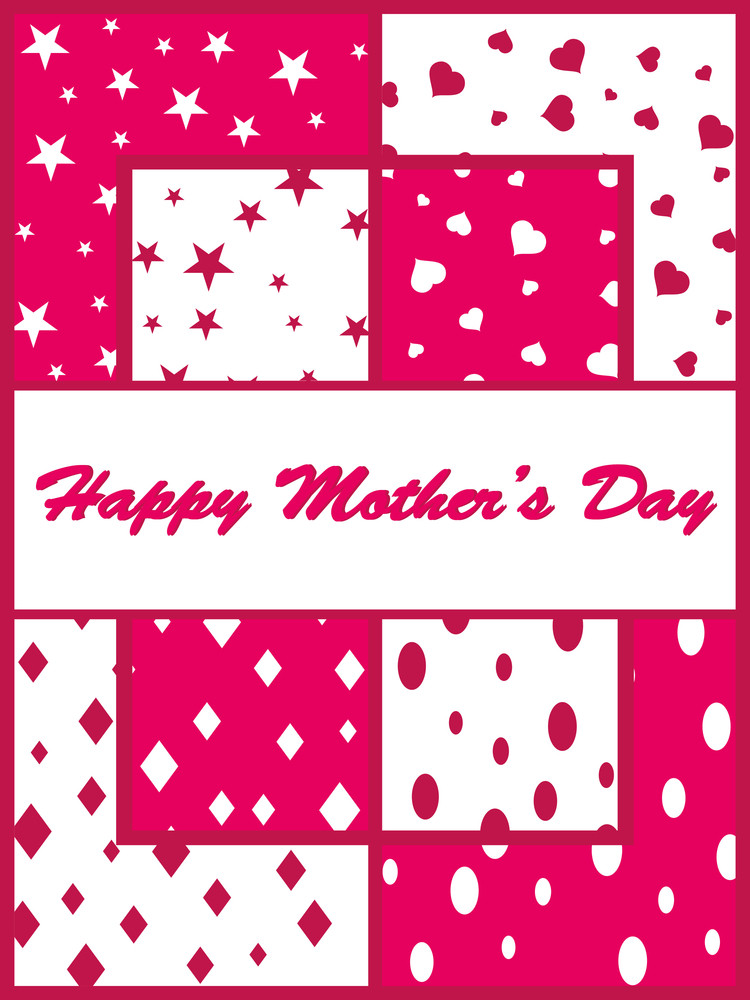 Greeting Card For Mother Day Celebration