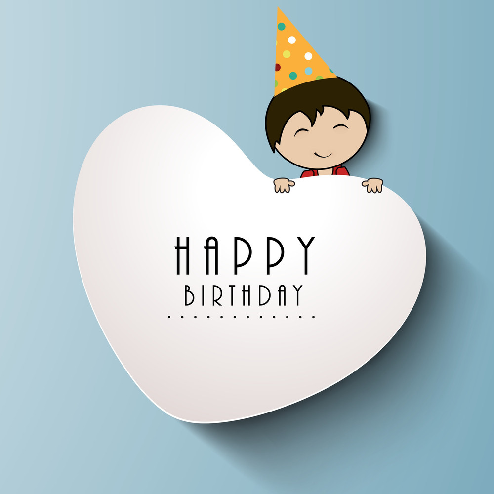 Greeting Card Or Background For Birthday Celebration Royalty Free
