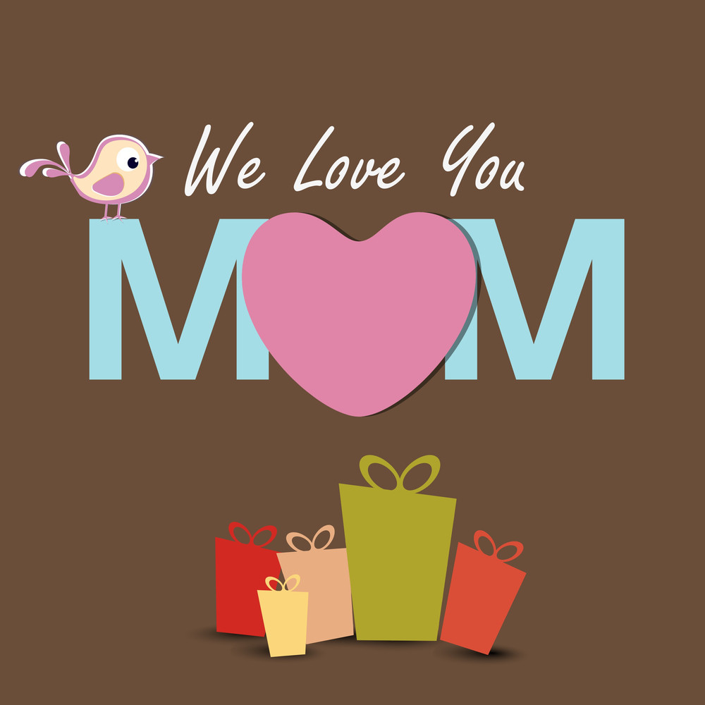 Greeting Cards Or Gift Cards On Occasion Of Mothers Day
