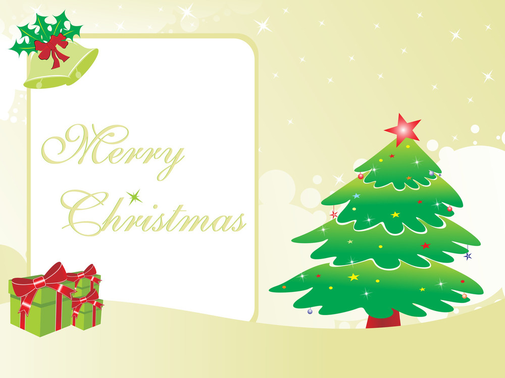 Gretting Card For Christmas Day