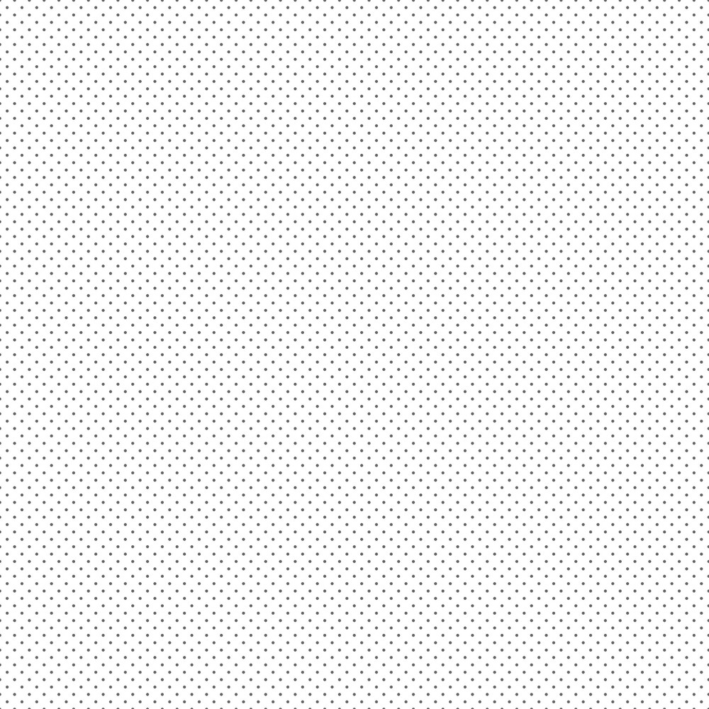 Pattern Of Grey Polka Dots On A White Background