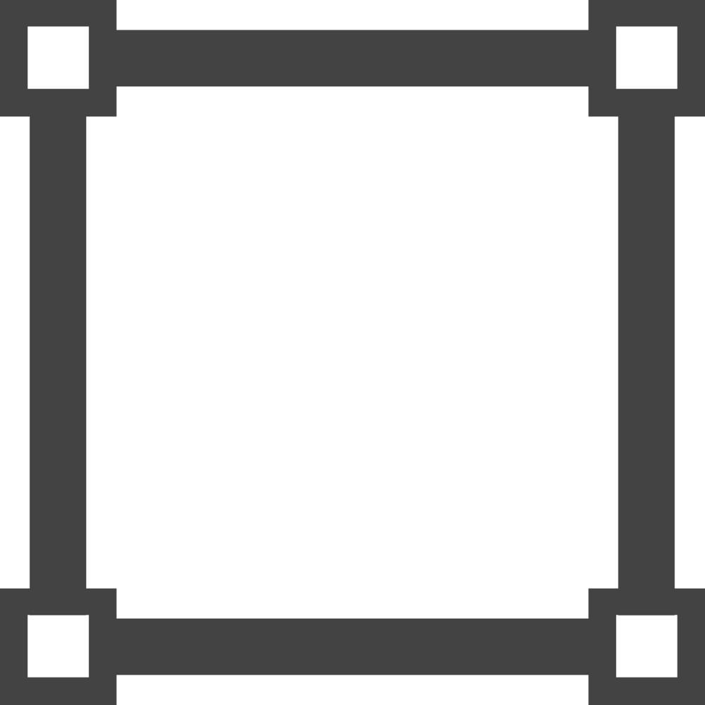 Grid 2 Glyph Icon