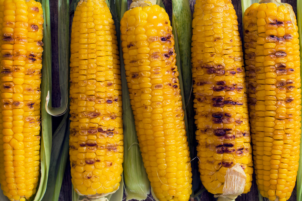 Grilled Corns